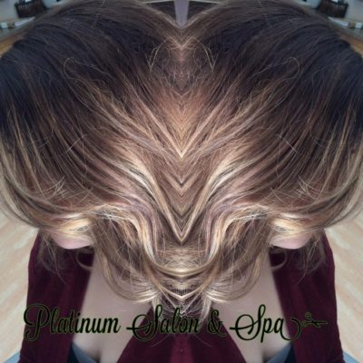 Natural Blonde Highlights on Brown Hair