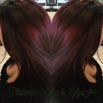 Brown and Red Hair Color Burlington