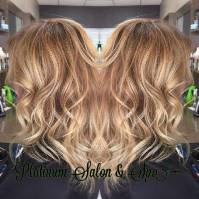 Highlighted Blonde Hair Burlington WI