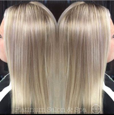 Platinum Blonde Hair Treatment Burlington Wi