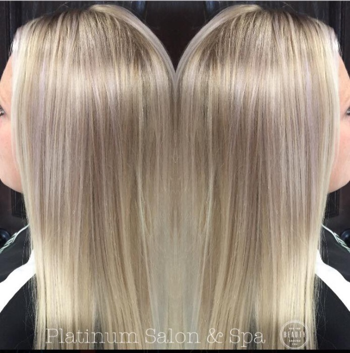 Platinum Blonde Hair Treatment Burlington Wi