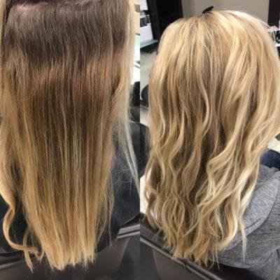 Hair Cut & Blonde Highlights Burlington, WI