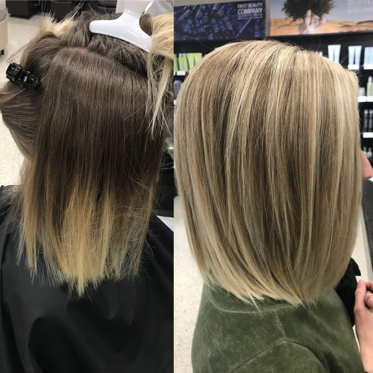 Hair Color Blonde Burlington, WI
