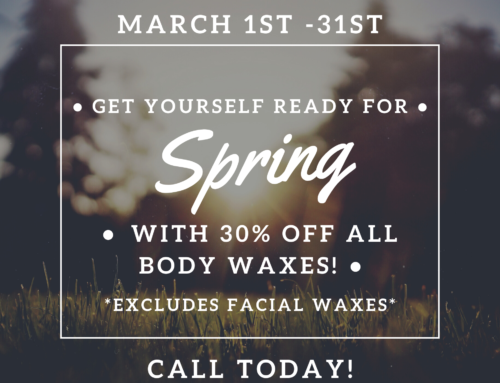 March Waxing Special
